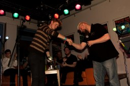 2. Platz: Erik Leichter, 8.11.2013, CaféSATZ Poetry Slam, C@fe-