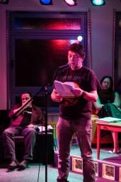 Jürgen Ludwig, CaféSATZ Poetry Slam, C@fe-42, 6.12.2013