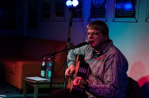 Michael Völkel, CaféSATZ Poetry Slam, C@fe-42, 6.12.2013