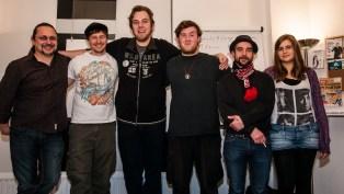 Die Slammer: Rainer Wüst, Alexander, Tobias Reinartz, Tuna Tour