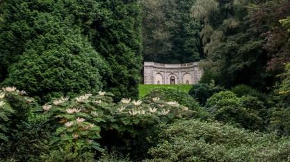Ludwig-Ringel-Denkmal in den Barmer Anlagen, Fernsicht