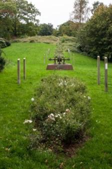 Bergbahn-Denkmal in den Barmer Anlagen, Totalansicht