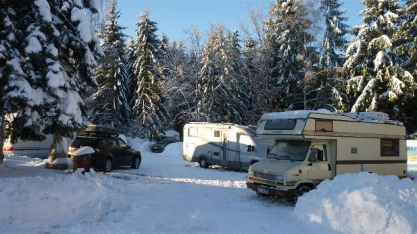 Caravaning im Winter
