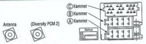 Becker CDR23 pinout or connector wiring diagram  986 Series (Boxster, Boxster S)  RennTech