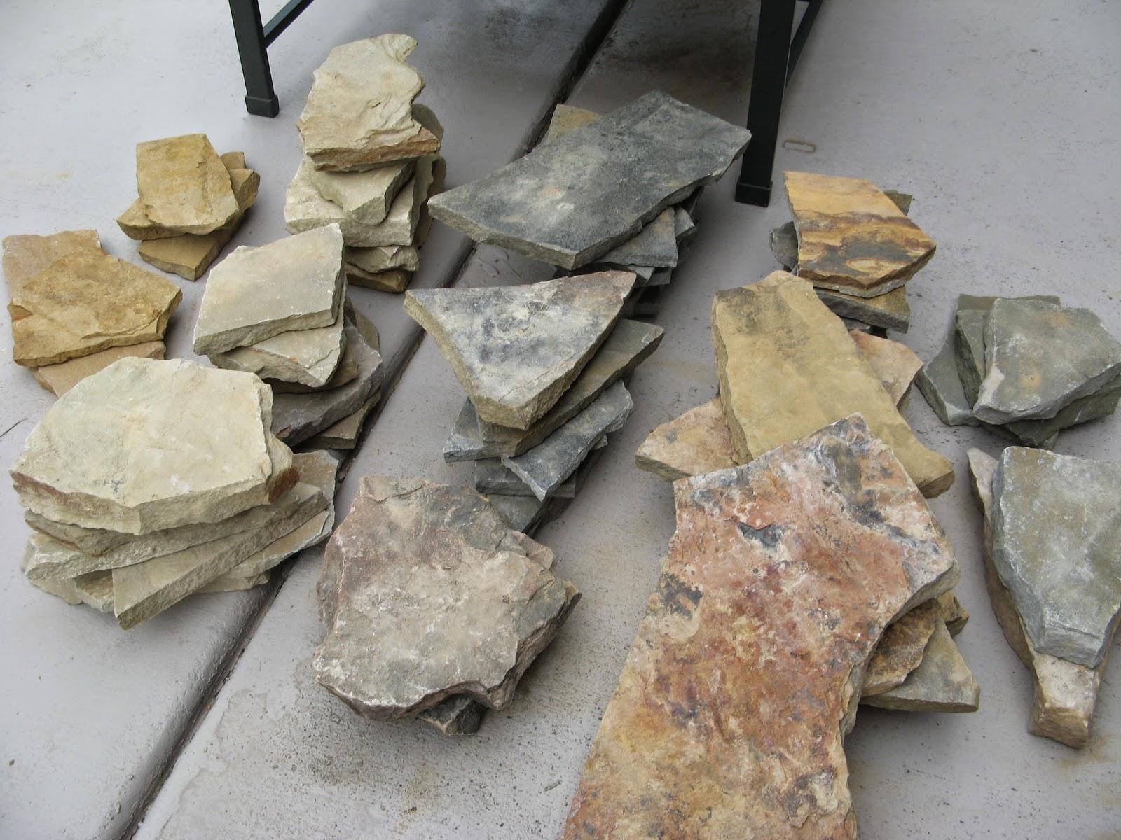 Diy Circular Natural Stone Border For Formal Gardens