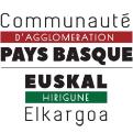 Logo de la Communauté d'Agglomération Pays basque, financeur du projet