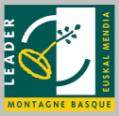 Logo des fonds LEADER Montagne Basque gérés par la CAPB et qui financent le projet