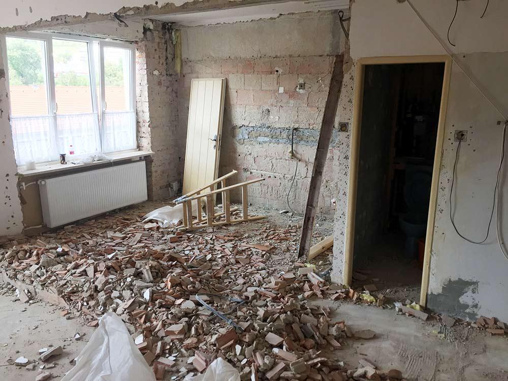 Rekonštrukcia bytu na Šuňavcovej