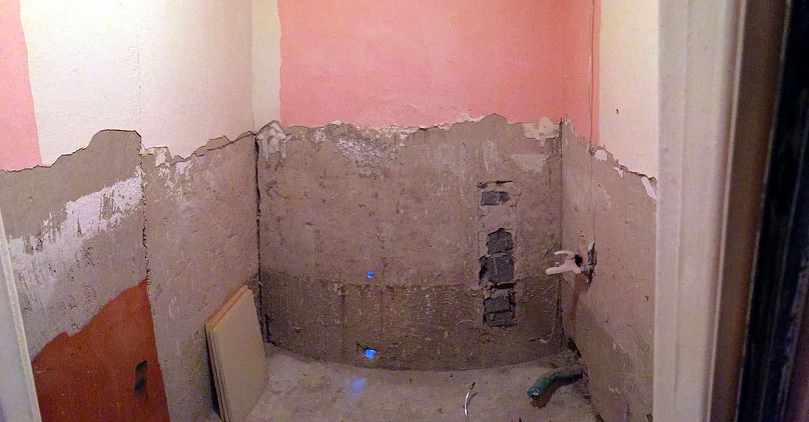 Rekonštrukcia kúpeľne renovate pred