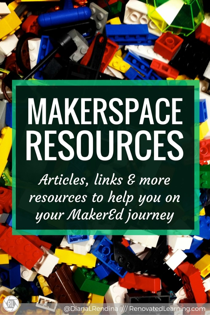 Makerspace Resources | Whether you're just getting started learning about makerspaces or already have a thriving Maker program going, there will be something on this page for you. I've curated articles, links, video and tons of other resources here to help you along your Maker journey.