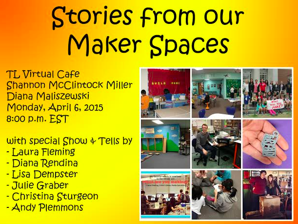 Stories from our makerspaces