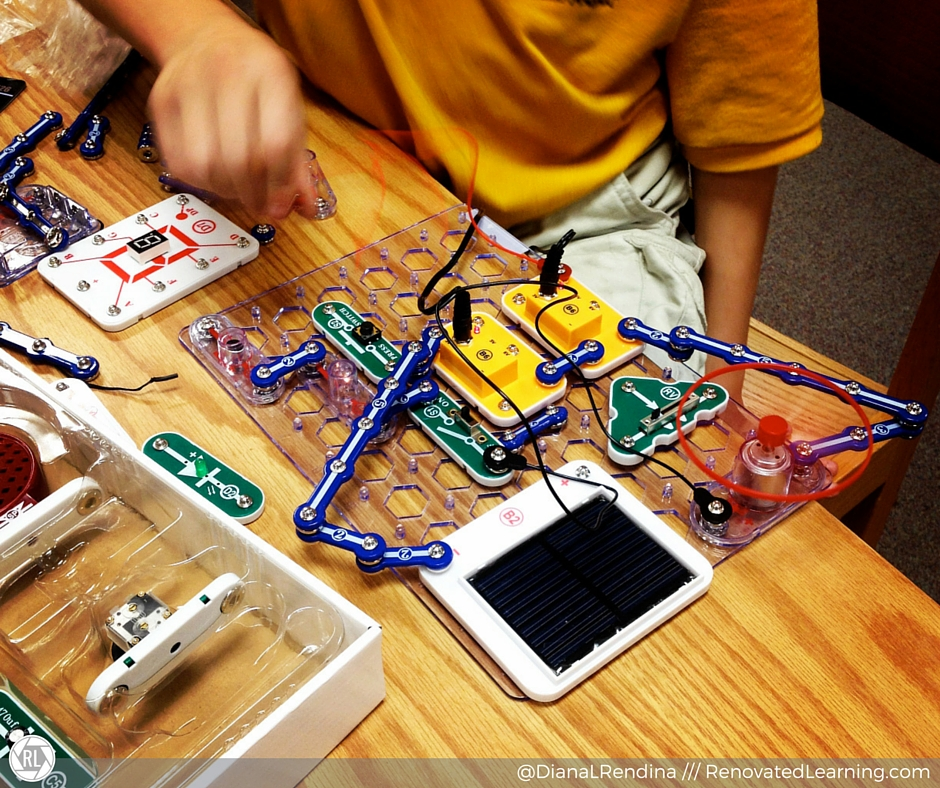 Adding Snap Circuits to our space