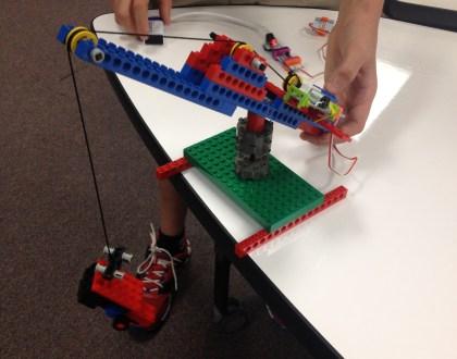 Build of the Week: littleBits and LEGOs Crane