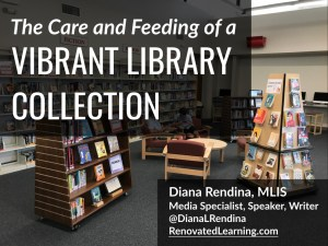 The Care and Feeding of a Vibrant Library Collection - Slides and resources from my conference presentation.