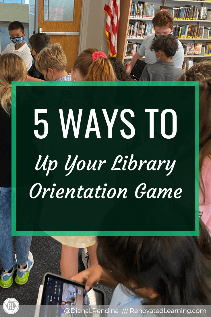 5 Ways to Up Your Library Orientation Game - Tips I've learned from 12 years of library orientations for middle schoolers.