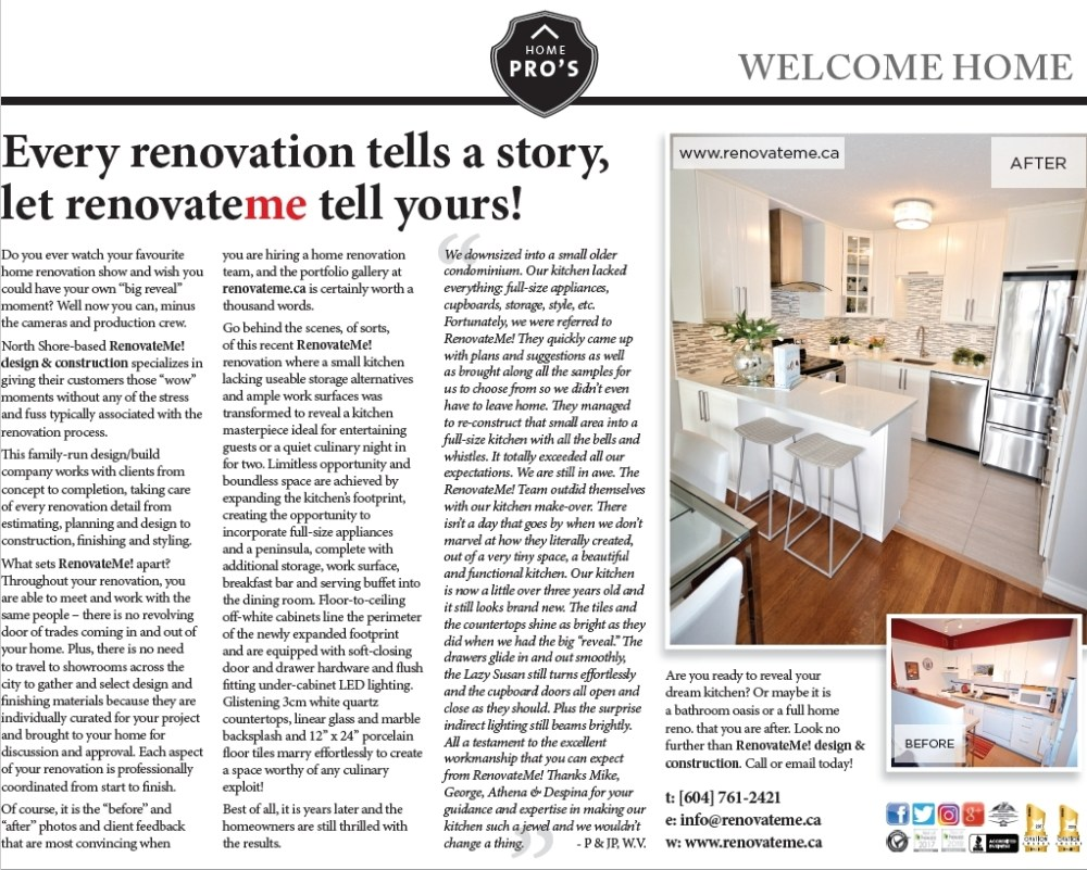 Every Renovation Tells a Story Home Renovations North Vancouver
