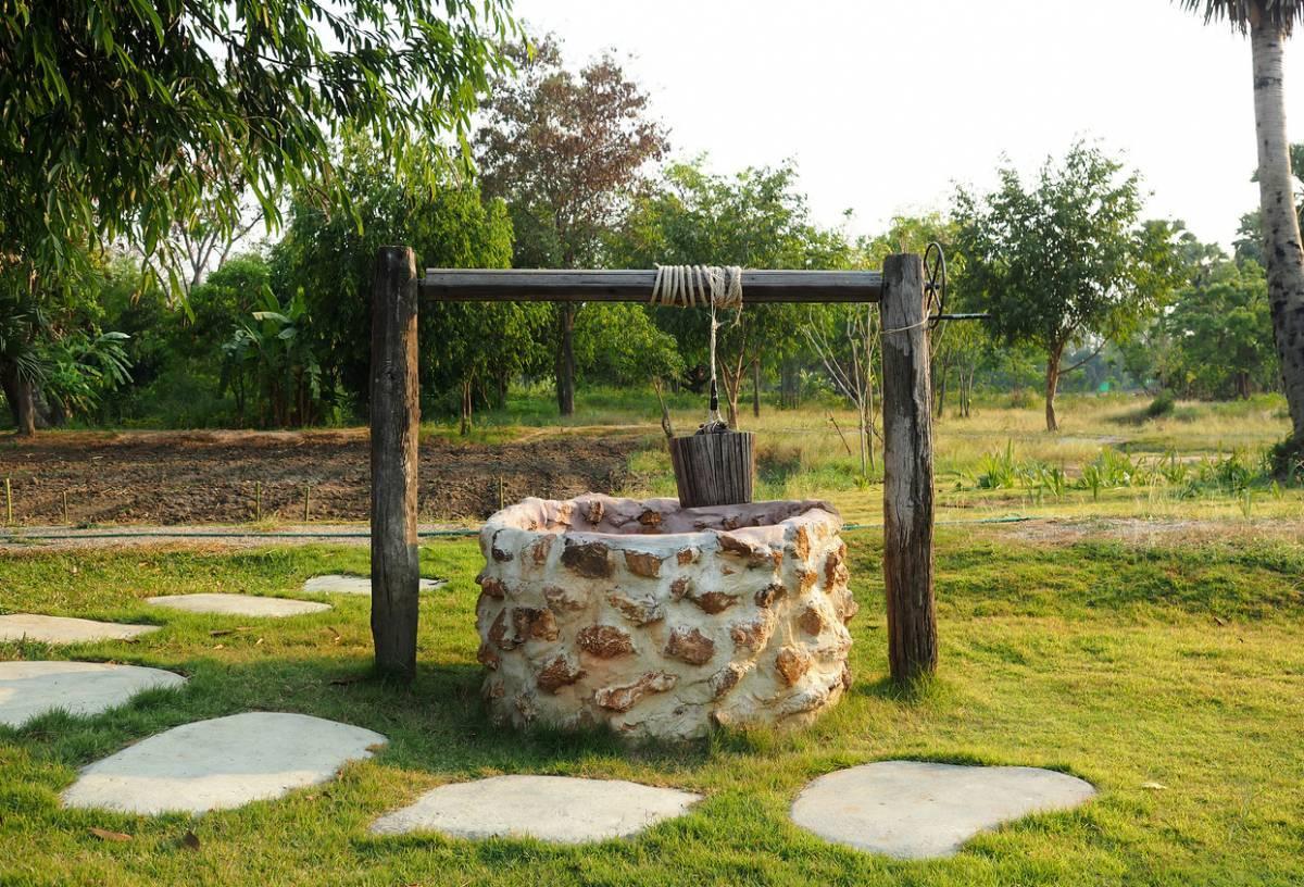 vieux puits de votre jardin