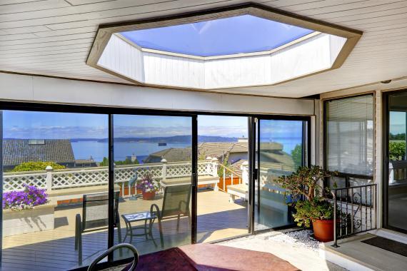 Les règles de construction d'une baie vitrée
