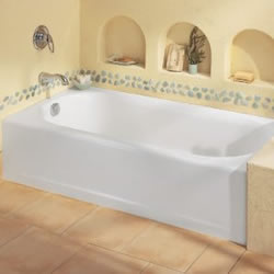 How to Apply Caulk around a Bathtub bathtub