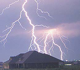 Surge protection, lightning protection, storm damage