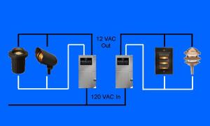 How To Wire Outdoor Low Voltage Lighting  Part 3