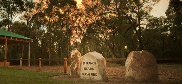 A natural burial park has been established in the grounds of the Catholic Kemps Creek Cemetery in Sydney's west. Sydney Natural Burial Park/Catholic Cemeteries and Crematoria