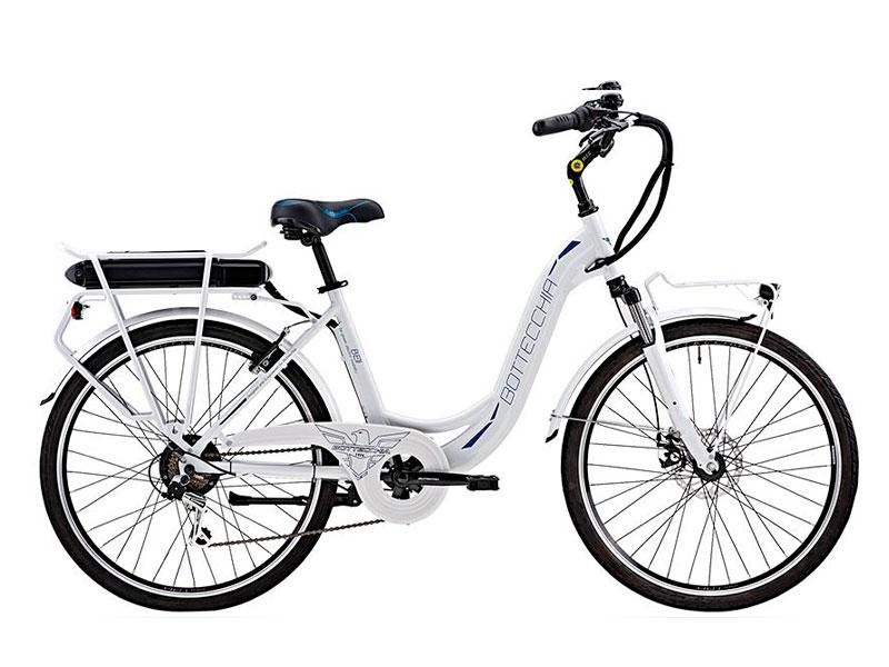 bici-elettrica-donna-colore-bianco-noleggio moto e scooter salerno