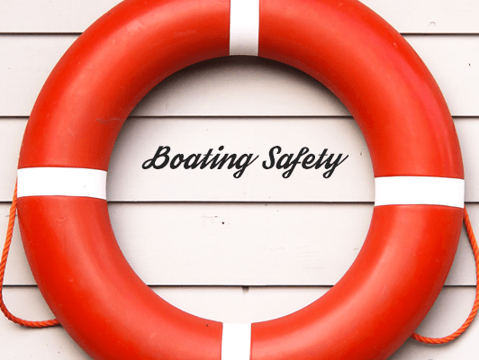 safety ryles for boating in santorini