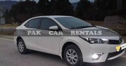 Rent Toyota Corolla GLI 2017