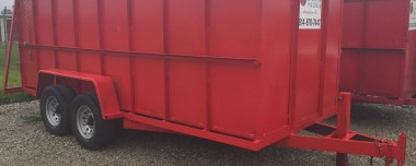 Driveway Safe Trailer Dumpsters