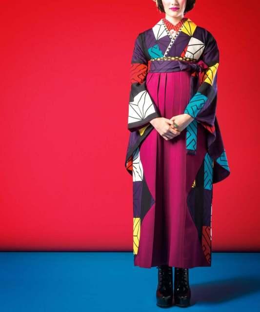【卒業袴】凛とした趣きレトロガール☆かわりいちまつ