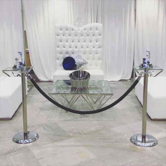 Highback Sofa with VIP Ottomans