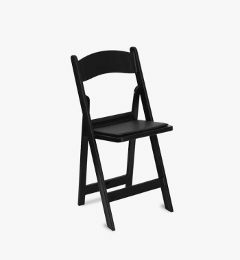 Black Resin Chair Rentals Atlanta