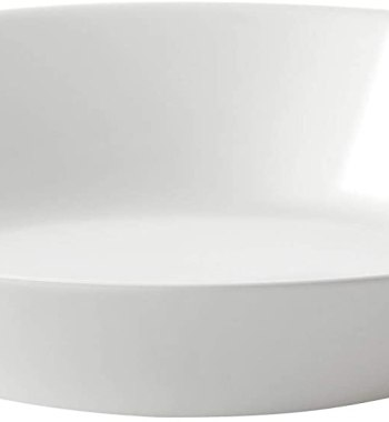 White Tempered Glass Bowl