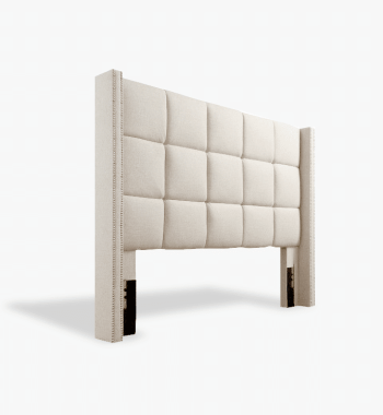 Upholstered Headboard Image for Home Staging- - Monthly Home Furniture Rental