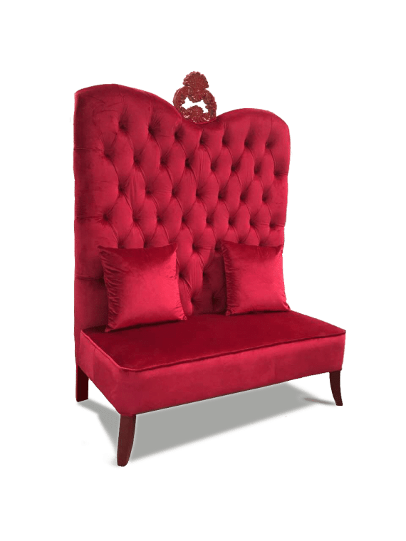 Red Wine Sofa Rental Red Seat