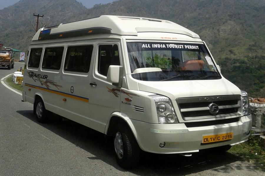 Delhi To Manali Tempo Traveller Fare