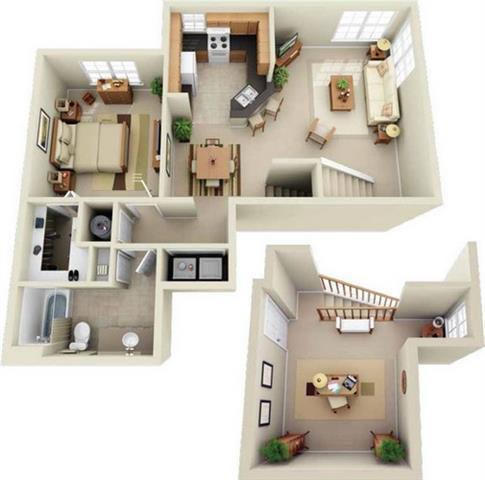 Dorchester With Loft Floor Plan 1