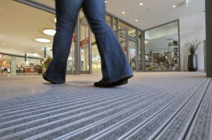 aluminium door matting