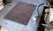 industrial cotton floor mats