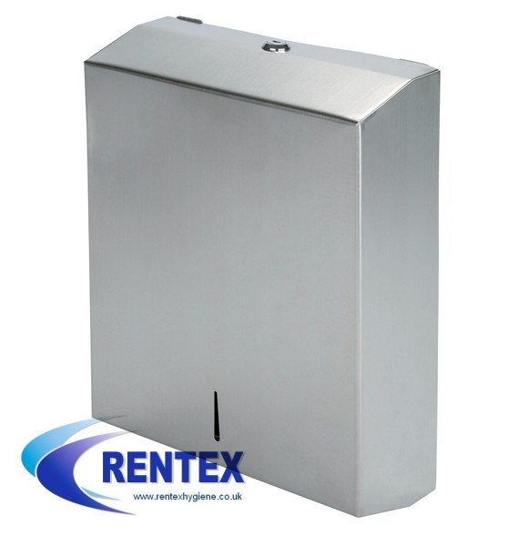 Paper hand towel dispenser stainless steel