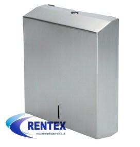 Paper hand towel dispenser stainless steel