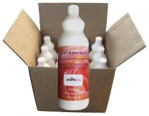 Neutrawaste germicidal powder