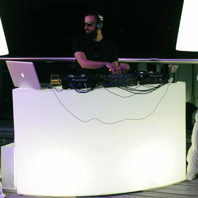 LED DJ Booth for Rent