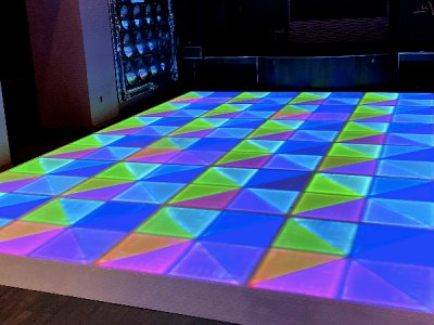 LED Dance floor rental 13x20'