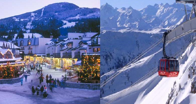 Whistler Village, Canada and P2P