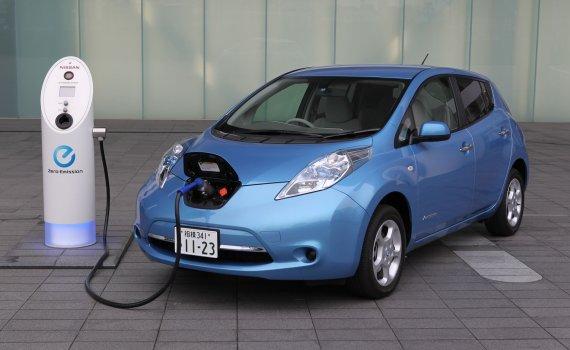 Electric Car, Nissan Leaf