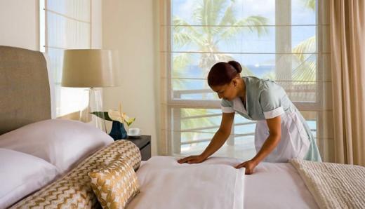 Hotel Room Linen Service