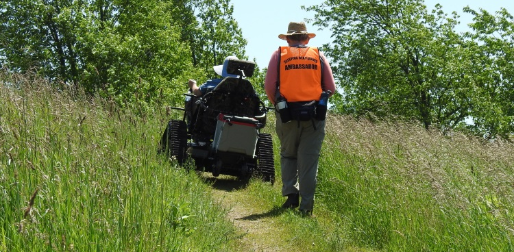 Tracked Wheelchair Rentals