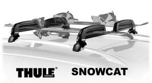 thule snowcat ski rack roof, Thule Snowcat 5401 Ski Rack